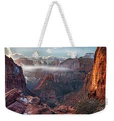 Zion Canyon Grandeur Weekender Tote Bag
