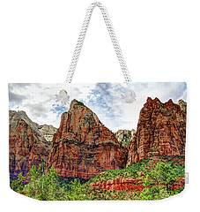 Zion N P # 41 - Court Of The Patriarchs Weekender Tote Bag