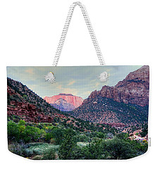 Zion National Park Weekender Tote Bag
