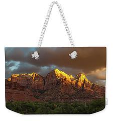 Zion National Park Sunrise Weekender Tote Bag