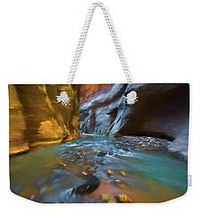 Zion Watercolor Weekender Tote Bag