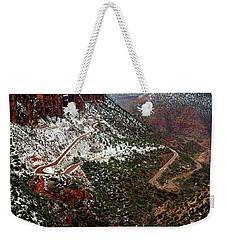 Zion's Winding Road Weekender Tote Bag