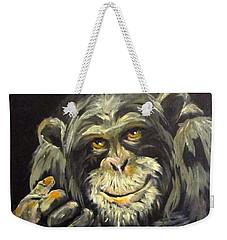 Zippy Weekender Tote Bag by Barbara O'Toole