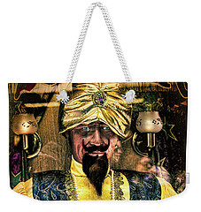 Weekender Tote Bag featuring the photograph Zoltar by Chris Lord