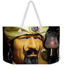 Weekender Tote Bag featuring the photograph Zoltar by Chuck Staley