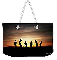 Zombie Apocalypse Weekender Tote Bag
