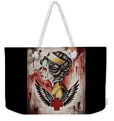 Zombie Nurse Weekender Tote Bag
