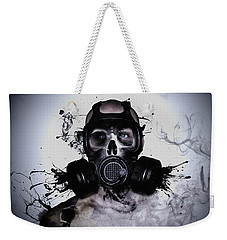 Weekender Tote Bag featuring the photograph Zombie Warrior by Nicklas Gustafsson