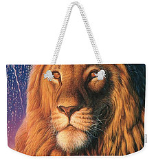 Zoofari Poster The Lion Weekender Tote Bag
