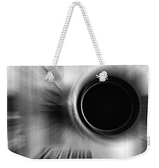 Weekender Tote Bag featuring the photograph Zoom by Ann Powell