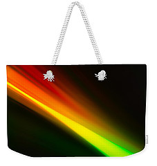 Weekender Tote Bag featuring the photograph Zooming by Greg Collins