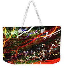Weekender Tote Bag featuring the photograph Zooming Through Toronto by David Pantuso