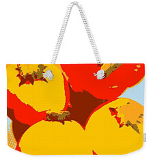 Zucchini And Bell Pepper Weekender Tote Bag