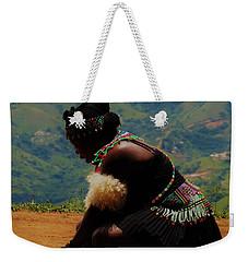 Zulu Bride Weekender Tote Bag