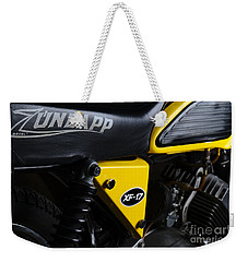 Classic Zundapp Bike Xf-17 Side View Weekender Tote Bag