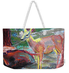 011719 Bambi 's Day Out Weekender Tote Bag