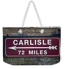 06/06/14 Settle. Period Destination Board. Weekender Tote Bag
