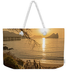 Access To The Beach At Dawn Weekender Tote Bag