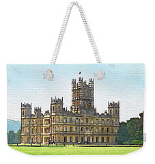 A View Of Highclere Castle Weekender Tote Bag