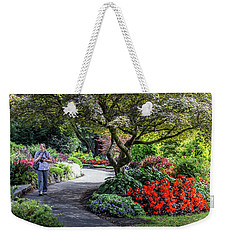 A Walk In The Garden Weekender Tote Bag