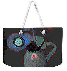 Abstract Floral Art 356 Weekender Tote Bag