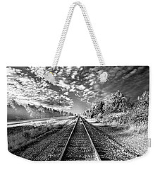 Weekender Tote Bag featuring the photograph All The Way Home by Phil Koch