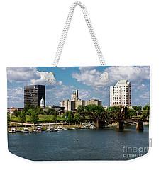 Augusta Ga - Savannah River Weekender Tote Bag