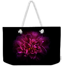 Weekender Tote Bag featuring the photograph Backyard Flowers 55 Color Version by Brian Carson