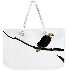 Weekender Tote Bag featuring the photograph Bald Eagle 120501 by Rick Veldman