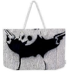 Banksy Panda Weekender Tote Bag