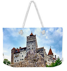 Weekender Tote Bag featuring the photograph Bran Castle by Fabrizio Troiani