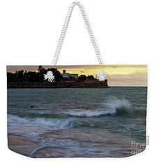 Weekender Tote Bag featuring the photograph Candelaria Bulwark From Saint Philippe Cadiz Spain by Pablo Avanzini