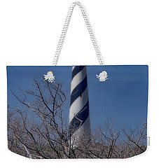 Weekender Tote Bag featuring the photograph Cape Hatteras Lighthouse by Pete Federico