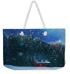 Weekender Tote Bag featuring the photograph Chalet by Okan YILMAZ