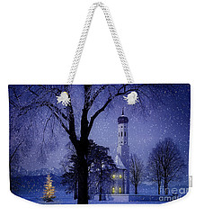 Weekender Tote Bag featuring the photograph Christmas Eve by Edmund Nagele