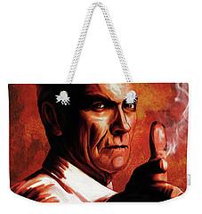 Clint.   Weekender Tote Bag