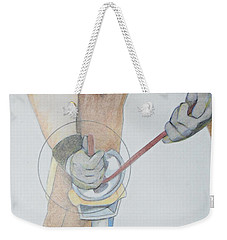 Clipping Hooves Weekender Tote Bag