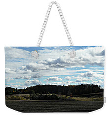 Country Autumn Curves 3 Weekender Tote Bag