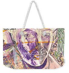Cut Portrait Weekender Tote Bag