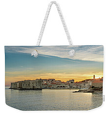 Dubrovnik Old Town At Sunset Weekender Tote Bag