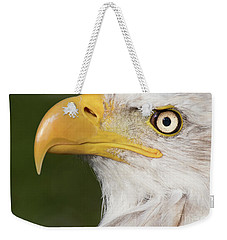 Eagle Portrait Weekender Tote Bag