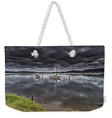 Early Morning Clouds And Reflections On The Bay Weekender Tote Bag
