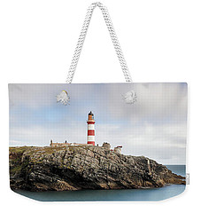 Weekender Tote Bag featuring the photograph Eilean Glas Lighthouse - Western Isles by Grant Glendinning