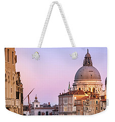 Evening Light In Venice Weekender Tote Bag