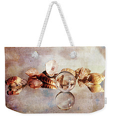 Weekender Tote Bag featuring the photograph Gems From The Beach by Randi Grace Nilsberg