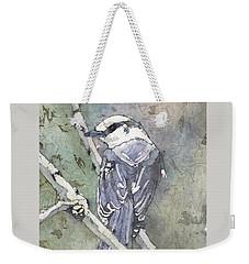 Grey Jay Weekender Tote Bag