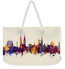 Halberstadt Germany Skyline Weekender Tote Bag