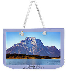 Weekender Tote Bag featuring the photograph Hermitage Point by Pete Federico