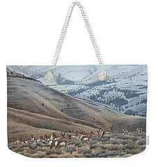 High Country Pronghorn Weekender Tote Bag