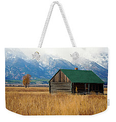 Weekender Tote Bag featuring the photograph Home On The Range by Pete Federico